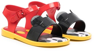 Mini Melissa Mar Mickey flat sandals