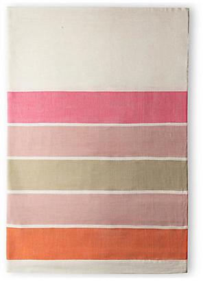 Bole Road Textiles Omo Shower Curtain - Cerise