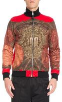 Givenchy Money Full-Zip Track Jacket, Red