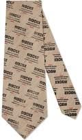 Gucci invite cotton linen tie