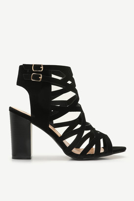 Ardene Caged Block Heels