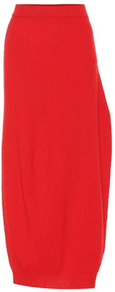 Jil Sander Wool and cashmere skirt