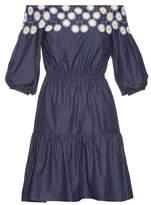 Peter Pilotto Pallas off-the-shoulder cotton dress