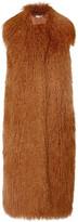 Stella McCartney Lila faux fur and wool-blend gilet