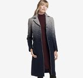 Johnston & Murphy Ombre Wool Coat