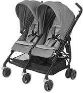 Maxi-Cosi Dana Stroller for Two + Cabriofix Bundle - Red Orchid