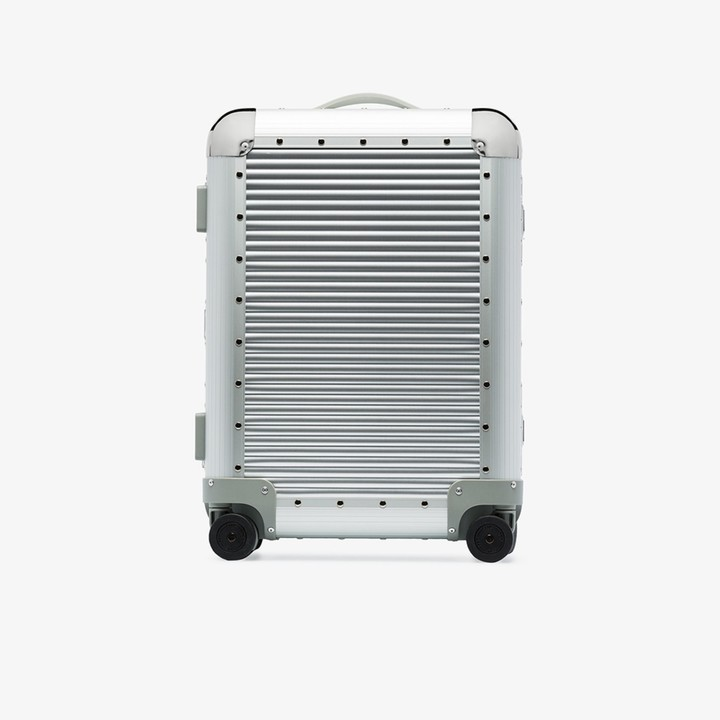 FPM Milano Silver Bank S Spinner 55 cabin suitcase