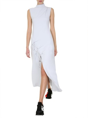 Off-White Dna Spiral Split Dress