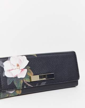 Ted Baker floral print sunglasses case-Multi