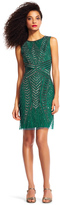 Adrianna Papell AP1E200188 Geometrically Sequined Dress