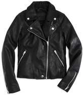 Blank NYC Blanknyc Girls' Faux-Leather Moto Jacket