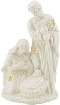 Mikasa Holiday Splendor Holy Family Nativity with LED Light