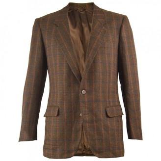 Saint Laurent Brown Wool Jackets