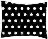 Harriet Bee Jodie Polka Dots Cotton Percale Pillow Cover