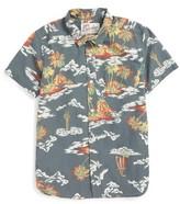 Quiksilver Toddler Boy's Island Apocalypse Woven Shirt
