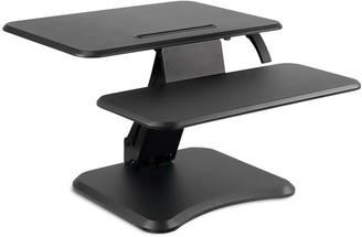Mount-it Mount-It! Standing Desk Converter with Keyboard Tray for Laptop and Desktop - MI-7957