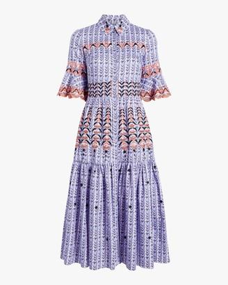 Temperley London Poet Midi Dress