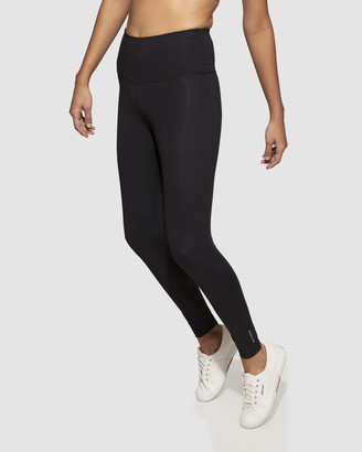 dk active - Women's Black Tights - Baseline Full Length Tights - Size One Size, S at The Iconic