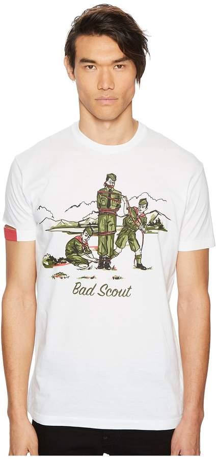 DSQUARED2 Bad Scouts T-Shirt Men's T Shirt