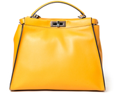 Fendi Large Peekaboo Bag - Mustard