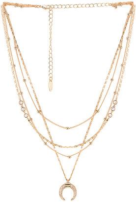 Ettika Layered Moon Necklace