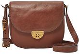 Fossil Emi Leather Saddle Bag