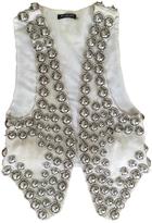 Balmain Linen short vest