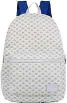 Giorgio Armani Mini Eagle Logo Backpack, White, One Size