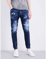 Dsquared2 Kenny Twist Slim-fit Tapered Jeans