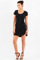 Saint Grace Kaira Tee Dress in Black 5060650116