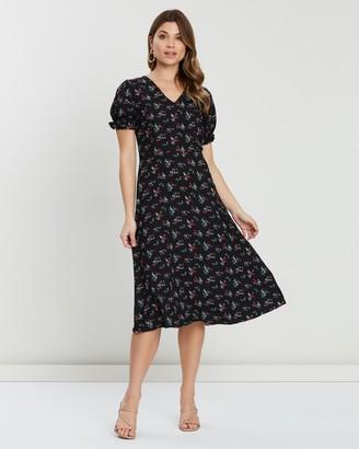 Atmos & Here Tia V-Neck Dress