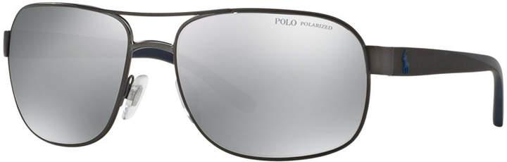 Polo Ralph Lauren Polarized Polarized Sunglasses, PH3093