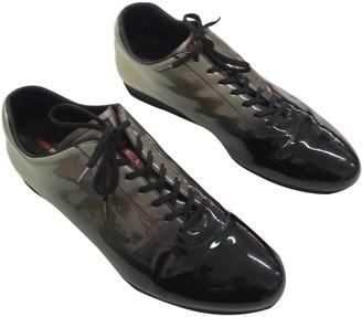 Prada Black Patent leather Trainers