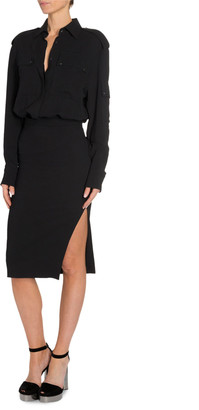 Tom Ford Patch-Pocket Dress
