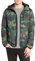 Hurley Men's Recruit Ripstop Camo Jacket