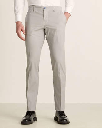 Brooksfield Micro Pattern 4-Pocket Chino Pants