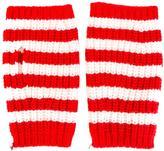Gucci fingerless striped gloves - men - Wool - M