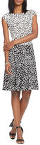 Lauren Ralph Lauren Petite Jason Printed Jersey Dress
