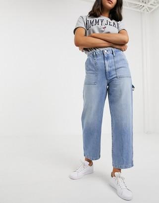 Tommy Jeans cargo jean-Blue