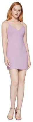 BCBGeneration Cocktail Surplice Cami Woven Dress - GEF6256834 (Lavender Herb) Women's Dress