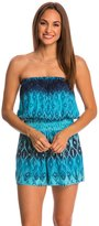 Hawaiian Tropic Scent of the Sea Sleeveless Romper 8146609