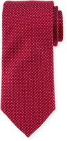 Peter Millar Dash Textured Silk Tie, Burgundy
