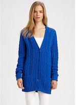 Ralph Lauren Blue Label Cotton/Cashmere Boyfriend Sweater