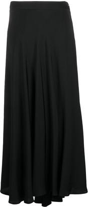 Peserico Asymmetric Draped Skirt