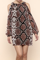 Olivaceous Snake Charmer Dress