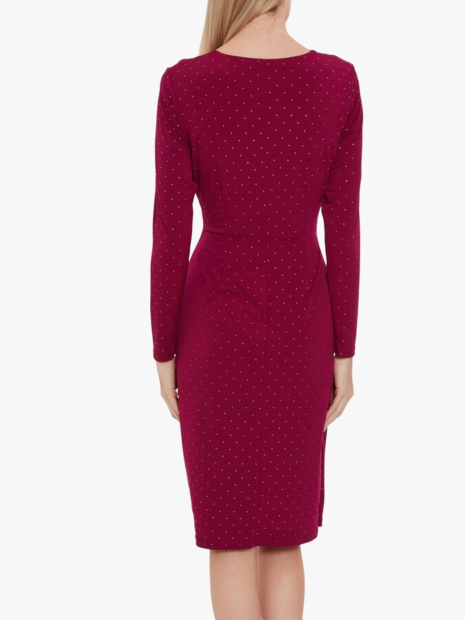 Thumbnail for your product : Gina Bacconi Myani Studded Jersey Dress