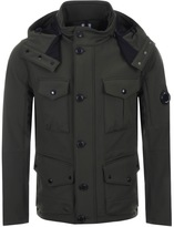 C.P. Company Goggle Hood Jacket Green