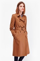 French Connection Canyon Twill Trench Coat