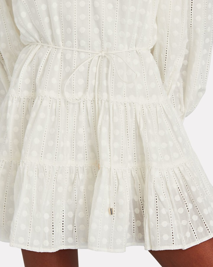 Thumbnail for your product : Significant Other Lucca Cotton Eyelet Mini Dress