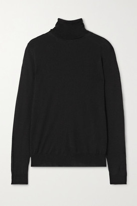 Stella McCartney Wool Turtleneck Sweater - Black